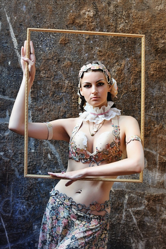 Items similar to Tribal fusion burlesque cabaret belly ...