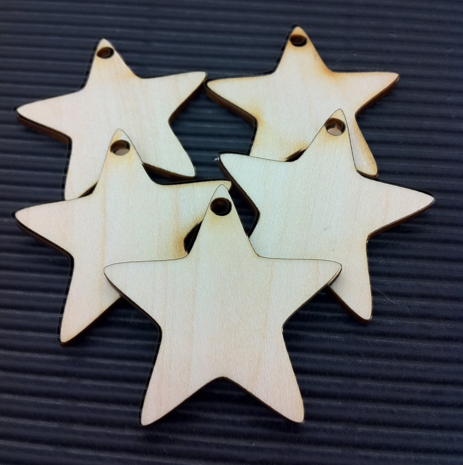 25 x wooden star craft shapes cw027 for by jennysuperstore