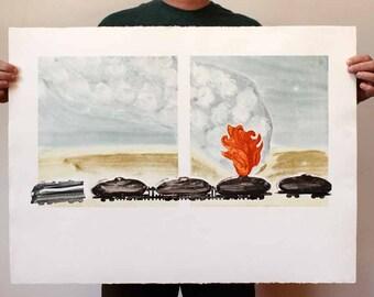 Tank Car on Fire ll