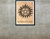 Protection Tattoo - Supernatural Inspired - Movie Art Poster