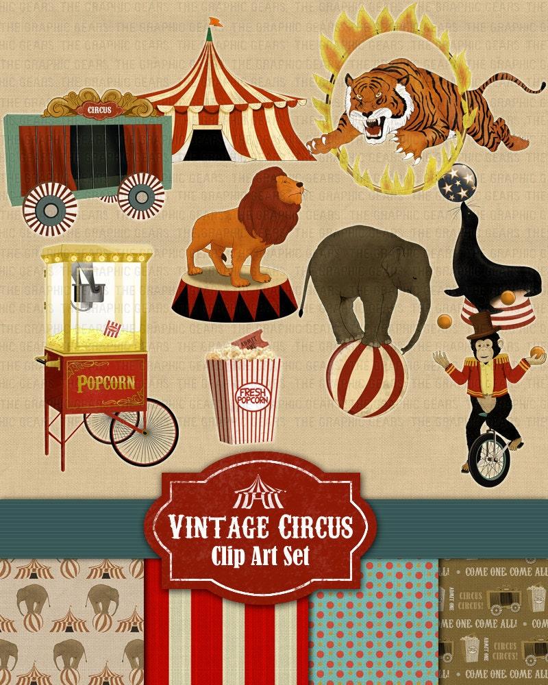 Vintage Circus Art 18