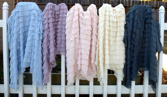 ruffle fabric giveaway