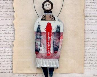 MIxed Media Art Doll Lox