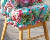 Shopping Cart Cover for Girls- Boutique Shopping Cart Cover- Amy Butler Love Bliss Bouquet