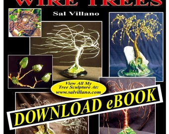 CREATING Gem, Beaded, & Bonsai WIRE TREES -  eBook