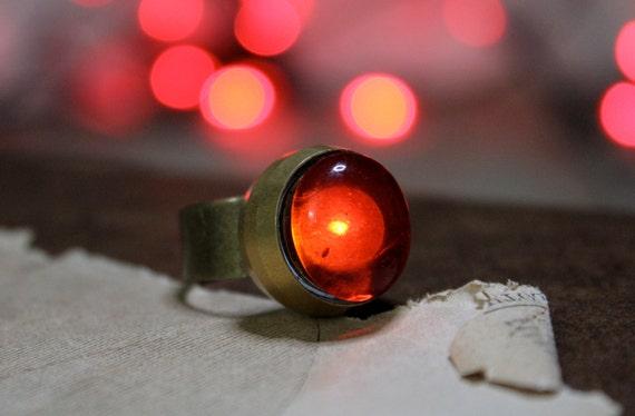 Blood Stone Night Light Ring