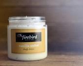 Vanilla Amber Body Lotion, Avocado and Shea Butter Lotion