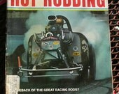 Popular Hot Rodding, August 1967, vintage car magazine,  hot rods, rat rods, custom cars, man cave gas station, motorhead