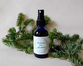 Balsam Fir Deodorant - a woodsy, unisex all-natural spray deodorant - effective and aluminum free (2 oz glass atomizer)