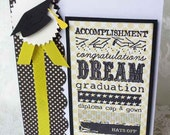 Graduation Congratulations Cap Handmade Card