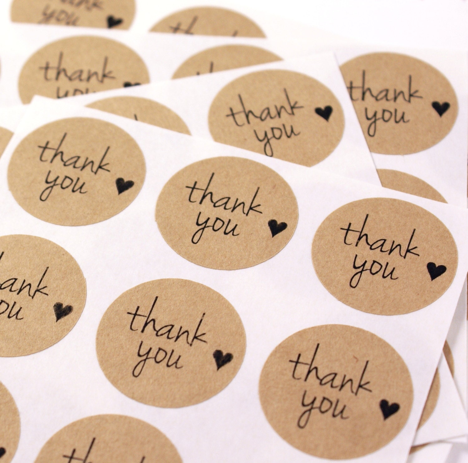 Versatile image pertaining to printable thank you labels