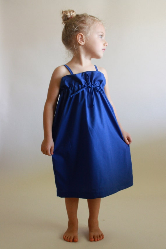 weekender dress / pdf sewing pattern sz 12 months to 5 years
