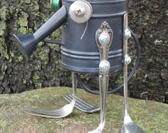 Bert - Original Found Object - Creature Sculpture