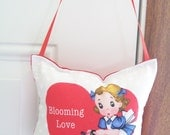 SALE - Valentines Door Hanger - Blooming Love