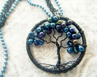 Tree of Life, Tree Necklace, Bumble Berry Tree of Life Necklace