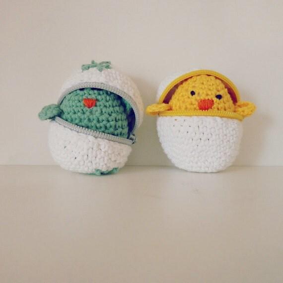 Easter Crochet Pattern - eggs & baby chicks amigurumi PDF - Instant DOWNLOAD