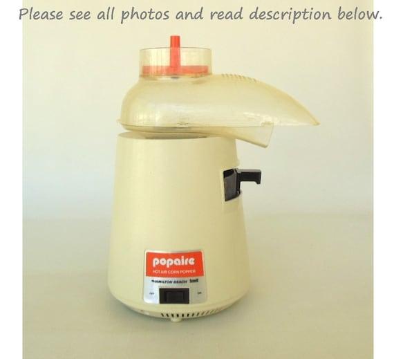 hamilton beach popcorn popper instructions