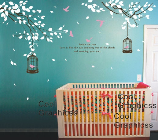 Moon Girl Nursery Wall Decals Part 53