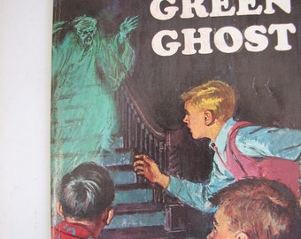 VTG The Mystery of the Green Ghost by Alfred Hitchcock paperback 1965