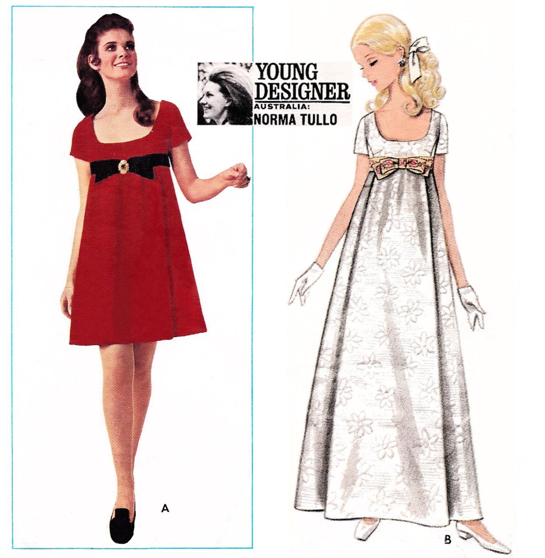 circa 1968 vintage australian designer norma tullo mod low