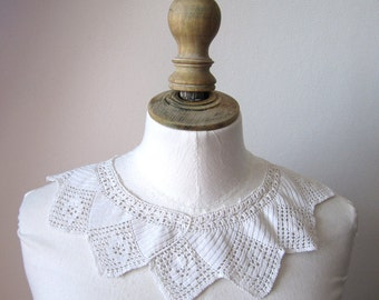 1920's Crochet Lace collar