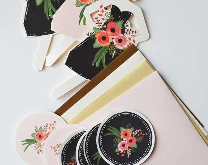 Will You Be My Bridesmaid/Maid Of Honor/Matron Of Honor/Flower Girl? Cards | Set of 3