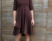Fredrika Dress ~ Hemp & Organic Lycra Jersey ~ Made to Order