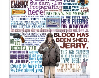 Blood Has Been Shed- Fargo tribute- signed print