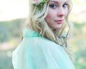 rose wedding flower bridal hair accessory