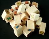 Rubber Stamp Set by Hero Art - Outline Alphabet
