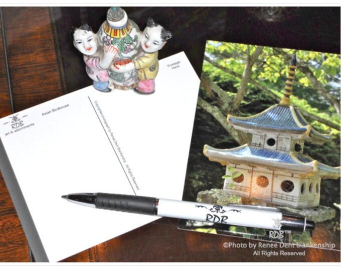 Birdhouse Postcards
