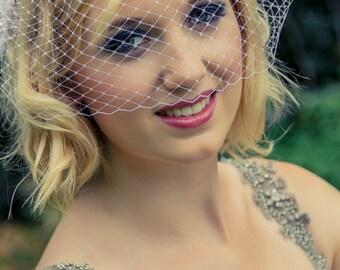 Short Veil, Veil for Wedding, Short Veil for Bride, Birdcage Veil, Bird Cage Veil, Bridal Veil, Veil Bridal, Wedding Veil