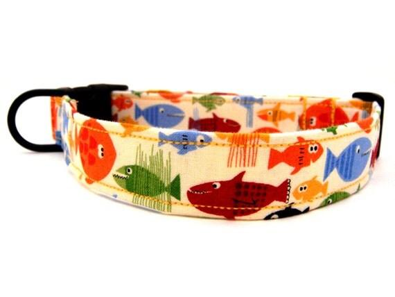 Luxury fish dog collars alternativaazapatero org for Fish dog collar