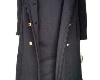 Vintage 60's Jackie O Coat & Dress Duo