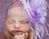 Flower Headband, Baby Girl Headband, Baby Headband, Newborn Headband, Toddler Headband, Baby Hair Accessory, Crochet Headband