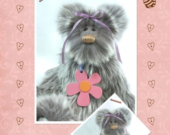 PDF - Pansy Artist Bear Pattern
