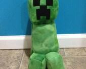 Minecraft Handmade Creeper Plush Plushie