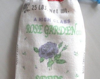 ROSE GARDEN CO. Drawstring Bag