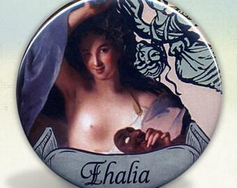 Thalia Greek Muse Pocket Mirror