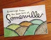 Somerville Massachusetts postcard: one postcard