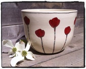 Poppy Tall Serving Bowl