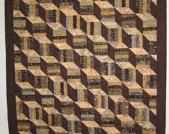 Batik Blocks Wall Quilts