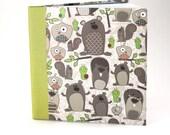 Woodland motif journal