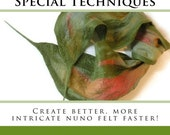 Nuno Felting: New Tools, Tips & Special Techniques BOOK FALL SALE