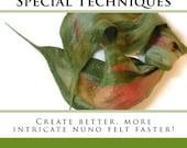 Nuno Felting: New Tools, Tips & Special Techniques BOOK