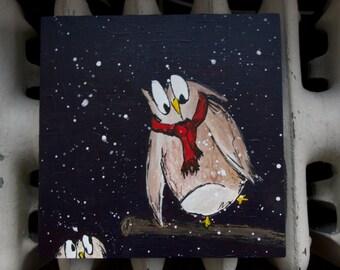 "SALE - Original Painting - ""Flakey Friend"""