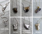 Umbilical cord necklaces, custom made with your babys cord