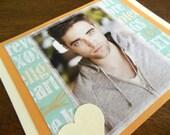 Robert Pattinson Notecard