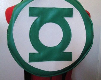 Green Lantern inspired backpack