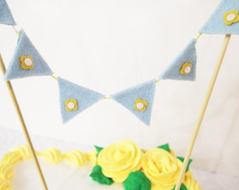For Lisa, 2 cake buntings